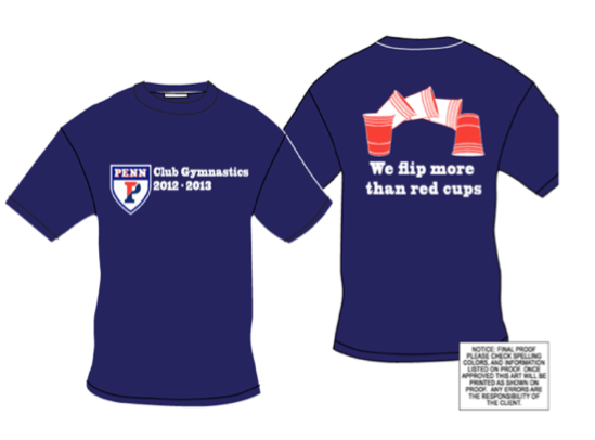 Official Red Cups Shirt - $20